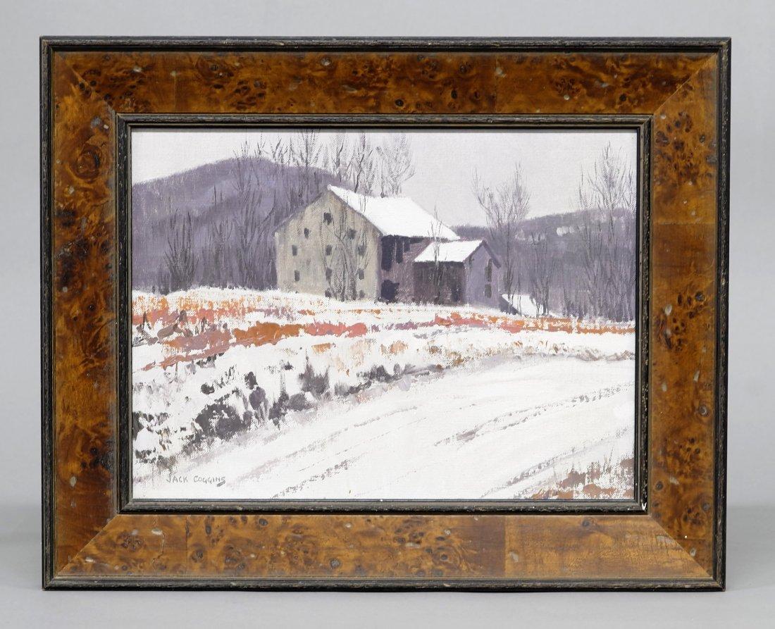 Jack Coggins Oil Pennsylvania Landscape