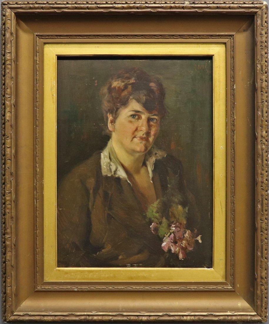 Mathias Joseph Alten Portrait of a Lady