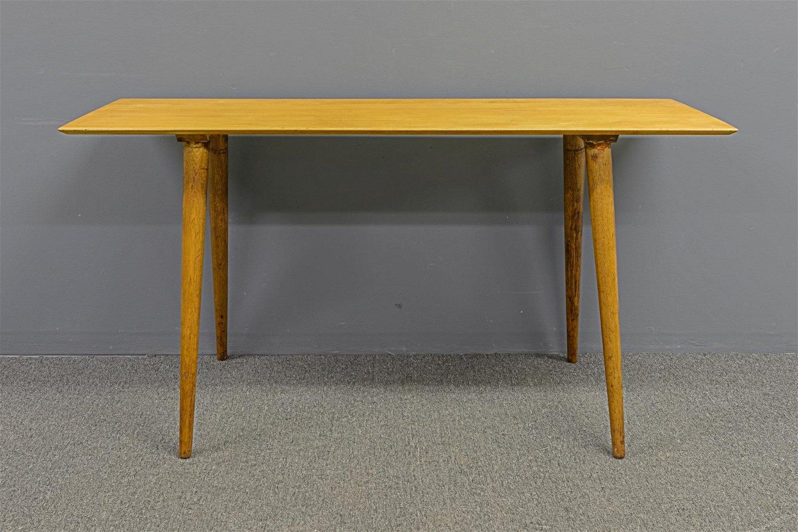 Paul McCobb Mid-Century Modern Console Table