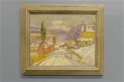 Walter Emerson Baum Landscape