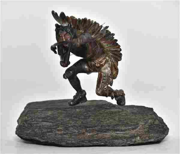 Carl Kauba Cold Painted Bronze