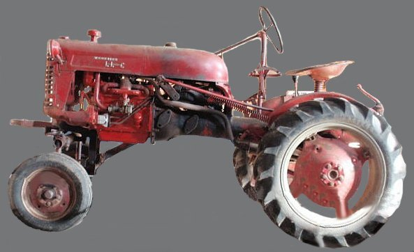 25A: Farmall Cub tractor 1955, ser.# 192242.