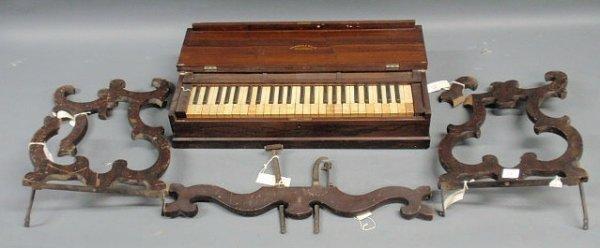 37: Hughes & Hale, Philadelphia Organette in a mahogany