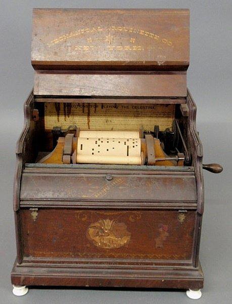 "42: Roller organ, c.1880, ""Celestina"" by the  Mechanica"