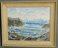 Gruppe, Emile Albert [American, 1896-1978] oil on