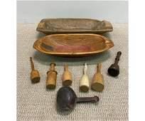 Wooden Ware etc
