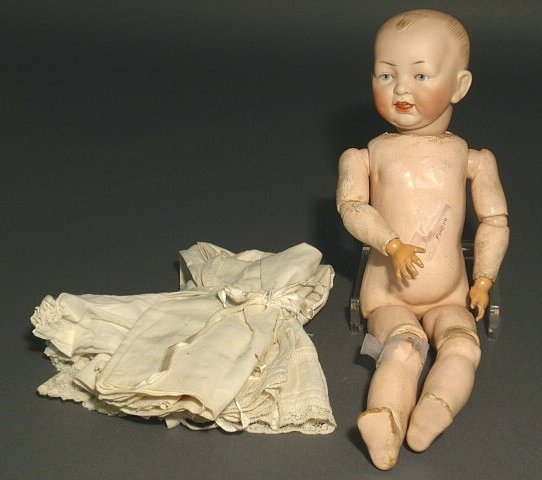 24: Character doll marked 151/2. As found.