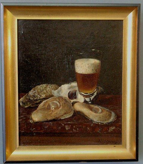 236: Way, Andrew John Henry [American, 1826-1888] oil o