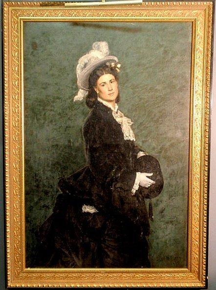 253: Tracy, John Martin [American, 1843-1893] very nice