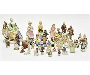 Porcelain Figures etc.