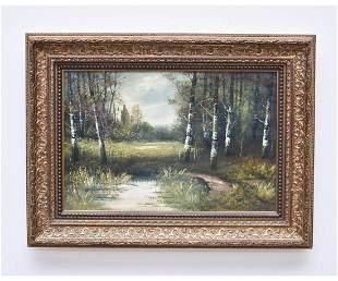 J. Davis Oil on Canvas