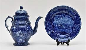 Historical Blue Plate etc.