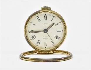 Cartier Traveling Alarm Clock