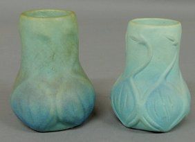 271: Two signed Van Briggle art pottery vases, early 20
