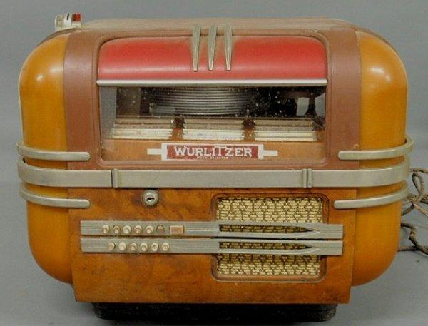 """274: Wurlitzer """"Multi-Selector Phonograph"""" tabletop juk"""