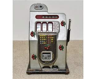 Vintage Mills Ten Cent Slot Machine