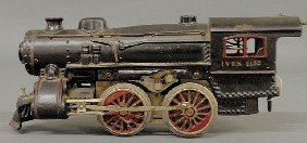 Ives 1132 Cast Iron Electric Toy Steam Locomotive