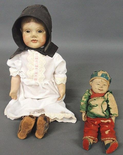 "103: Victorian composition head doll 21.5""h., late 19th"