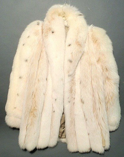 15: Christian Dior lynx fur jacket, ladies size 6 or 8
