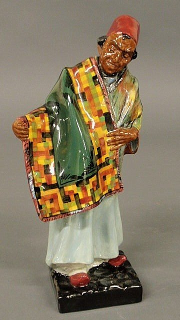 "7B: Royal Doulton figure ""Carpet Seller"". 9""h."