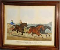 """471: Lithograph """"Dexter, Ethan Allen and Mate"""" by Haske"""
