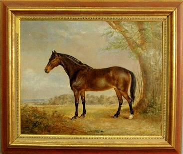 268: Smith, George Armfield [British, 1808-1893] oil on