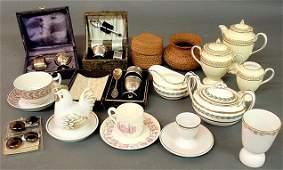 363: Misc. grouping- Wedgwood bone china breakfast set