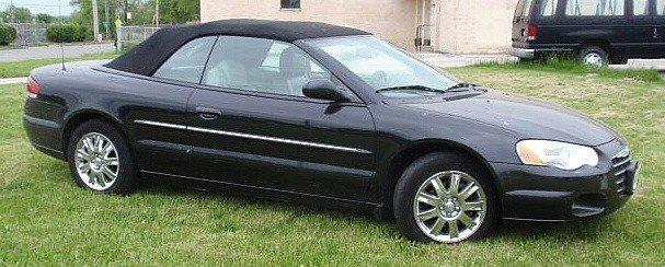 1: 2004 Chrysler Sebring Limited convertible, Brilli