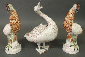 10: Contemporary Italian ceramic duck tureen made for