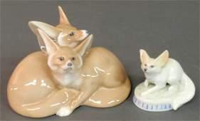466 Royal Copenhagen porcelain figural group of two f