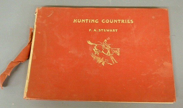 9: Book- Hunting Countries by F.A. Stewart, Collins