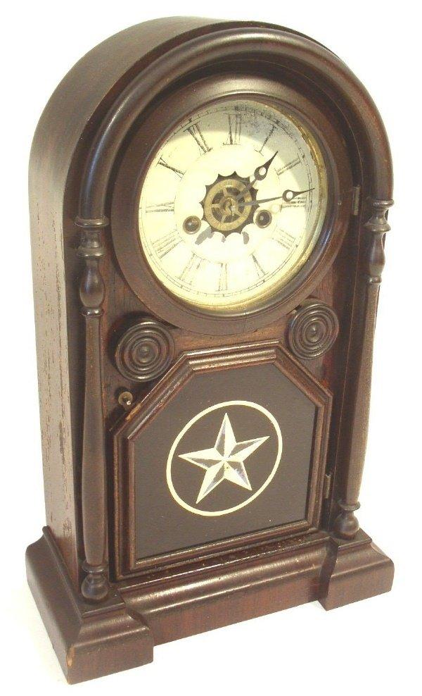 40: Connecticut mantel clock with alarm.