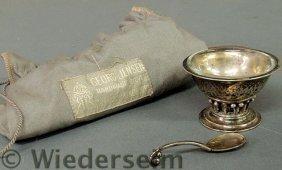 Georg Jensen, Denmark, C. 1925 Silver Master Salt