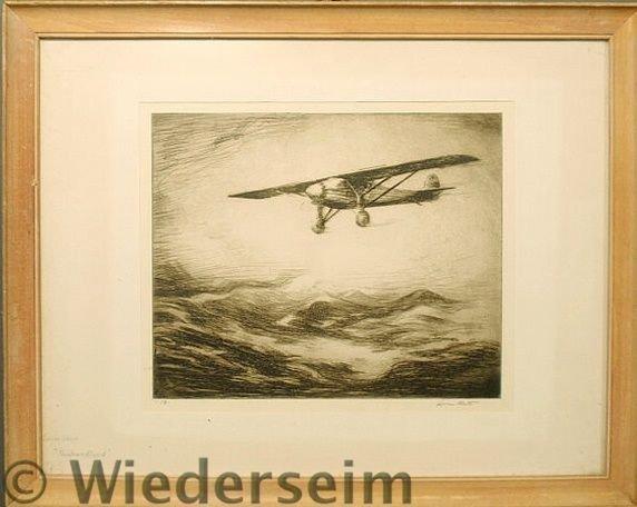144: West, Levon [American/New York, 1900-1968] framed