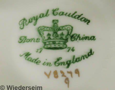 154: Assembled set of Cauldon bone china dinner service - 2