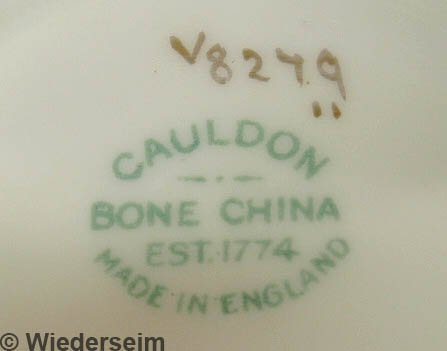 154: Assembled set of Cauldon bone china dinner service - 3
