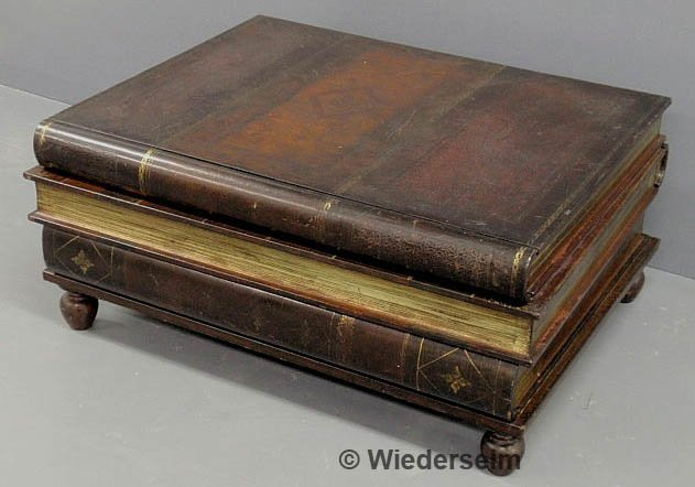 310 Maitland Smith Leather Book Form Coffee Table With