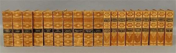 666: Books- nine-volume set Irving's Works and ten-volu