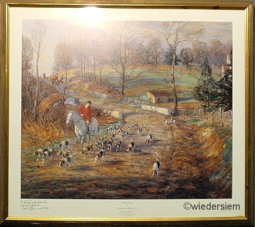 401: Framed Charles Morris Young special edition print