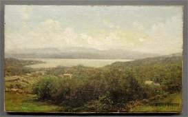 475: Bristol, John B. [American, 1826-1909] oil on canv