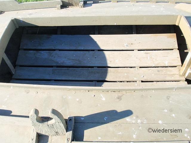 619: Green painted cedar Barnegat Sneak Box duck boat - 3
