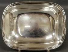Tiffany  Co sterling silver rectangular open vegetabl