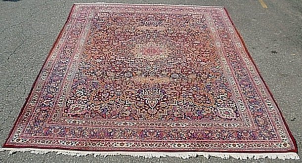 Palace size Persian oriental carpet with overall floral