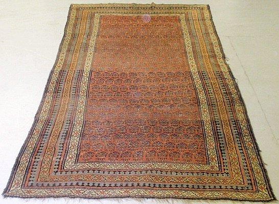 "Serabend oriental center hall carpet. 8'8""x5'1"""