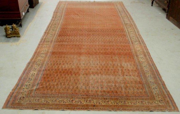 "Large Serabend oriental carpet. 16'3""x6'9"""