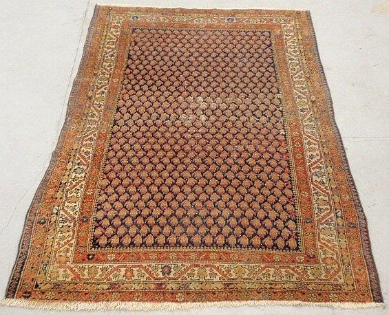 "Serabend oriental center hall carpet. 6'3""x4'4.5"""