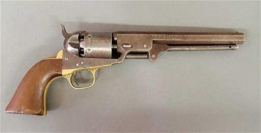 model 1841 36 caliber navy colt revolver some cylinder
