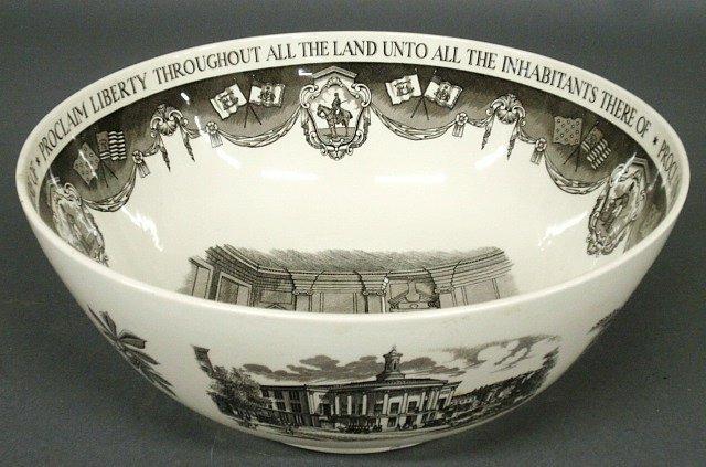 """Wedgwood """"Philadelphia"""" bowl, Bailey, Banks & Biddle"""