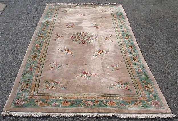 Palace size Chinese style oriental carpet with taupe
