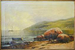Furst Emile American 19th20th c oil on canvas